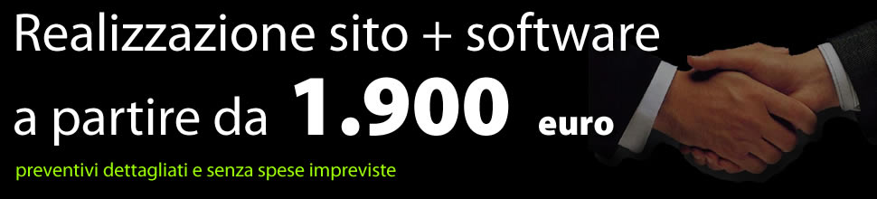 Sito internet + software gestionale